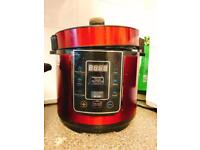 Automatic cooker for meat fish pasta