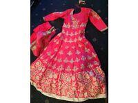 Pink dress: £150