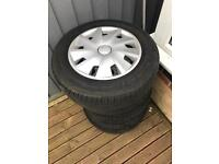 Seat Wheels & trims with tyres