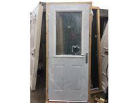 Back Door Composite/Steel plated