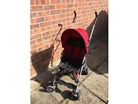 Red Stroller- excellent condition