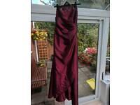 Womens ballgown/prom/bridesmaid dress size 14