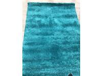 Brand new blue rug