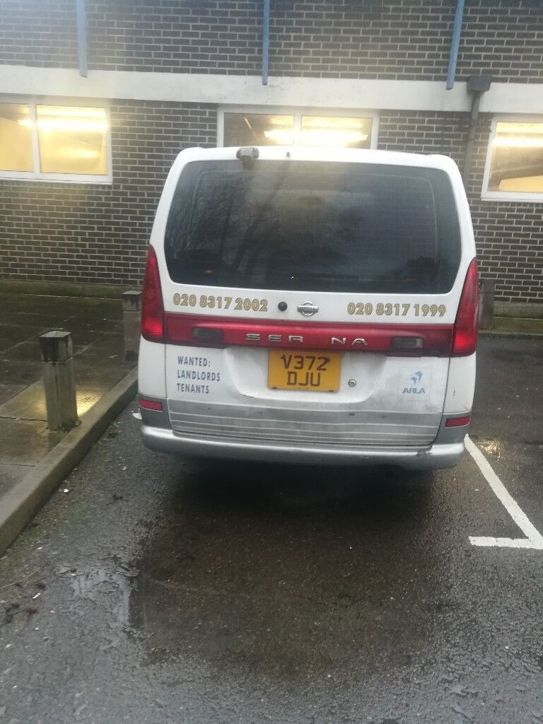 Nissan serena big family car seven seater 8 seater automatic gear ...