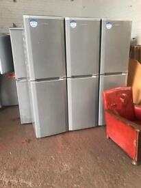 Tall Beko Silver/ Grey Fridge Freezer