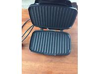 Cookworks mini grill and Panini toaster