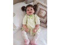 Baby girl reborn doll