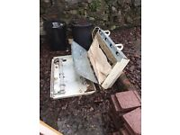 Free For Collection Scrap Metal from old electric heater