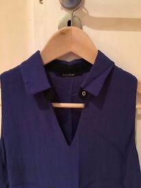 Kookai Dress Size Size 34 (small) - Bicolore Blue and Dark