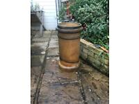 Architectural Salvage chimney pot. Vintage! Antique, reclaim and great for garden and patio!