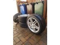 Mercedes C Class W204 alloy wheels