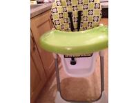 Boys high chair