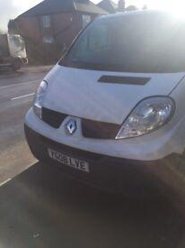 Renault trafic van LWB