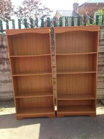 very good condition to bookcase £35 each 2 for £60 price