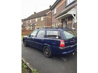 1998 VAUXHALL VECTRA D - MOT'd until March 2017 - Spares or Repairs (still driving!)