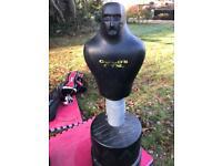 Golds Gym - Slam man. Boxing mannequin.