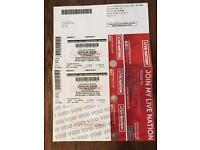 Depeche Mode Tickets x 2