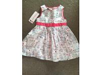 Ted Baker Baby Baker dress, new with tags age 3-6 months
