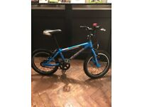 Isla Bike Cnoc 16 (4-6 yr old) Blue with stand - Great condition