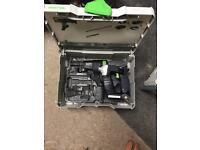 Festool collated gun bare no batteries