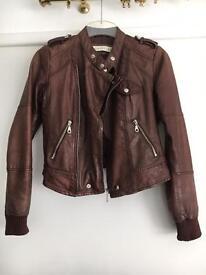 Whistles lambskin jacket 6/8