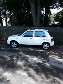 2002 NISSAN MICRA AUTOMATIC ONLY 55K MOT 1 YEAR..................£950