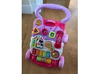 Vtech baby/toddler walker pink