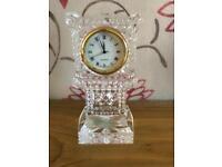24%lead crystal novelty mini grandfather clock