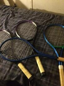 4 rackets NOW only 10 pound