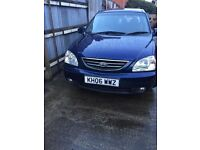 KIA CARENS CRDI LK 1 OWNER FROM NEW MOT JUNE 2017full service history
