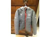 Arsenal Reversible Puffer Coat