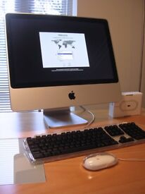 "APPLE iMAC 20"", 2.4Ghz INTEL CORE DUO, 4GB RAM UPGRADE- Immaculate Condition"