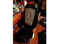 Homedics electric back massage chair seat