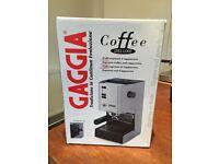 Gaggia Coffee de Luxe Italian coffee espresso machine top condition