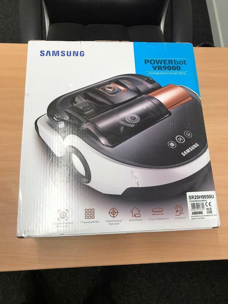 SAMSUNG POWERBOT VR9000 ROBOT VACUUM CLEANER BRAND NEW UNOPENEDin Knightswood, GlasgowGumtree - SAMSUNG POWERBOT VR9000 ROBOT VACUUM CLEANER BRAND NEW UNOPENED SAMSUNG RETAIL THIS AT £699 BARGAIN AT LESS THAN HALF PRICE £295