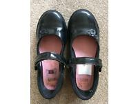 Clarks Girls School Shoes Size 12.5G