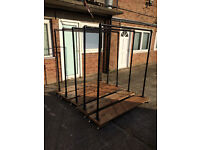 5 Industrial Style Clothes Rail and Shoe Racks