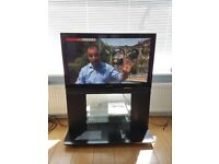 Panasonic TH-37PX70BA HD TV and Stand TY-S37PX70WK