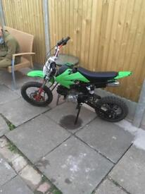 Motorbike 90cc replica of a kx Rev n go