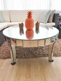 Mirrored coffee table - used
