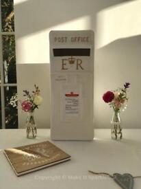 Royal Mail Post Box - Wedding cards