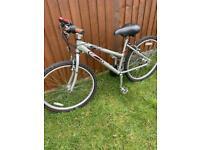 """Carrera ladies bike 17"""" alloy frame 26"""" wheels bike"""
