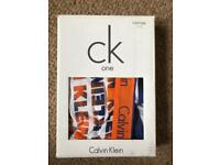 Calvin Klein boxers brand new in box