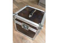 DJ vinyl record box: fully lined, sturdy - A6/Heaton Chapel