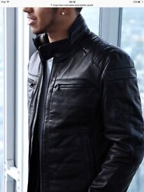 Hugo Boss Mercedes Collection Leather Jacket