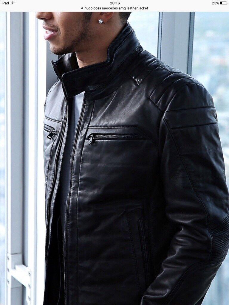Hugo Boss Mercedes Benz Leather Jacket Cairoamani Com
