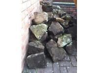 Rockery blocks
