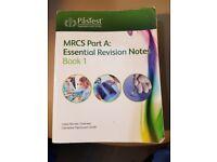 MRCS part A essential revision notes