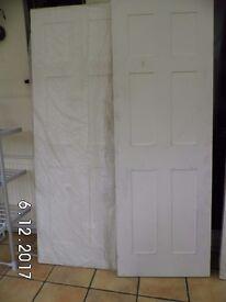 Internal 44 mm fire doors x 2