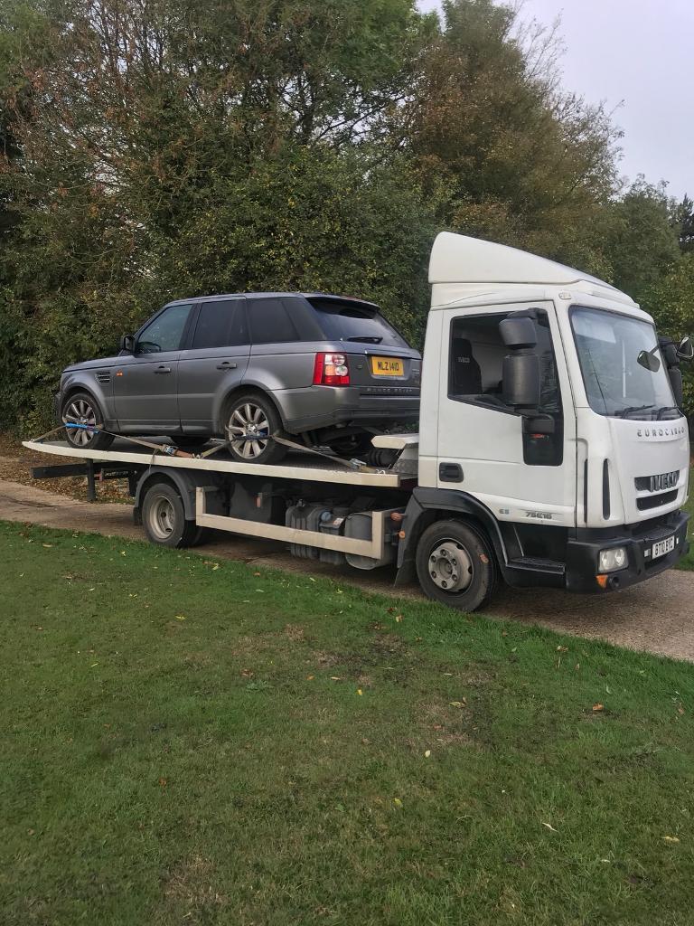 24 7 all east london car van recovery vehicle breakdown tow truck